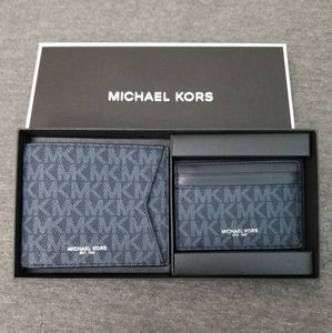 Michael Kors Men's Wallet and card case nwt